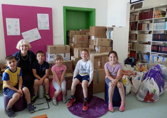 OŠ Grohote organizirala volontersku akciju za djecu i korporativne volontere