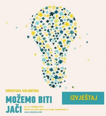 Izvještaj o manifestaciji Hrvatska volontira 2017