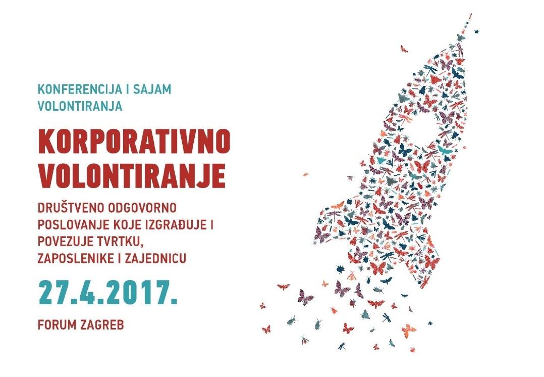 """Poziv na konferenciju i sajam volontiranja """"Korporativno volontiranje"""""""