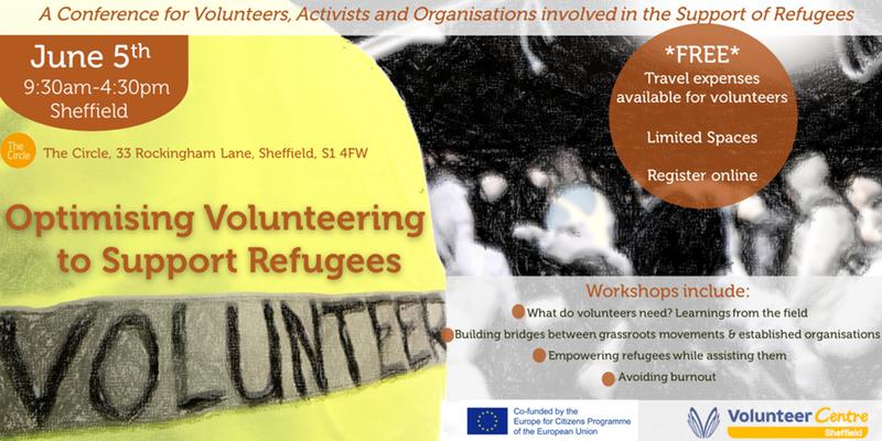 Optimiziranje volonterskih usluga s ciljem podrške izbjeglicama